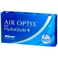 Линзы Air Optix plus HydraGlyde